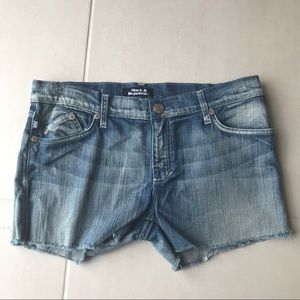 Rock & Republic Denim Cut Off Jean Shorts SH72